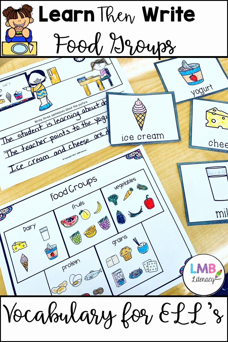 Five Food Groups Worksheets Beautiful Esl New Er Activities Five Food Groups with Flash Cards
