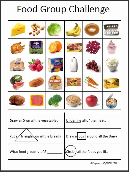 Five Food Groups Worksheets Fresh Pin by Susan Ummarino On Classroom Ideas