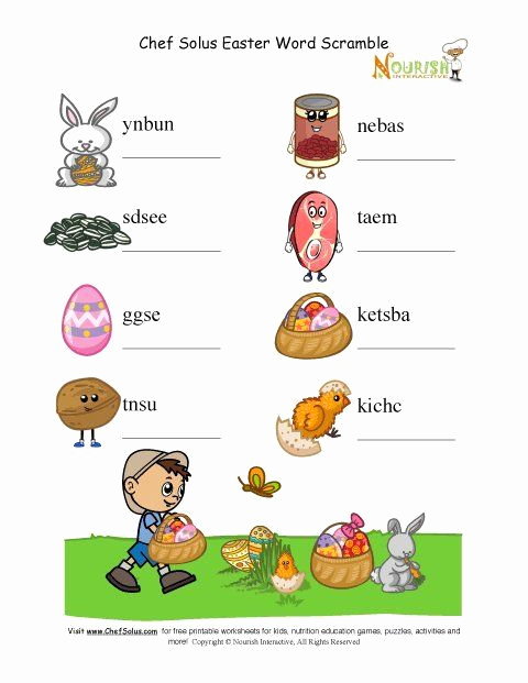 Five Food Groups Worksheets Unique Five Food Groups Worksheets Holiday 5 Unscramble Words