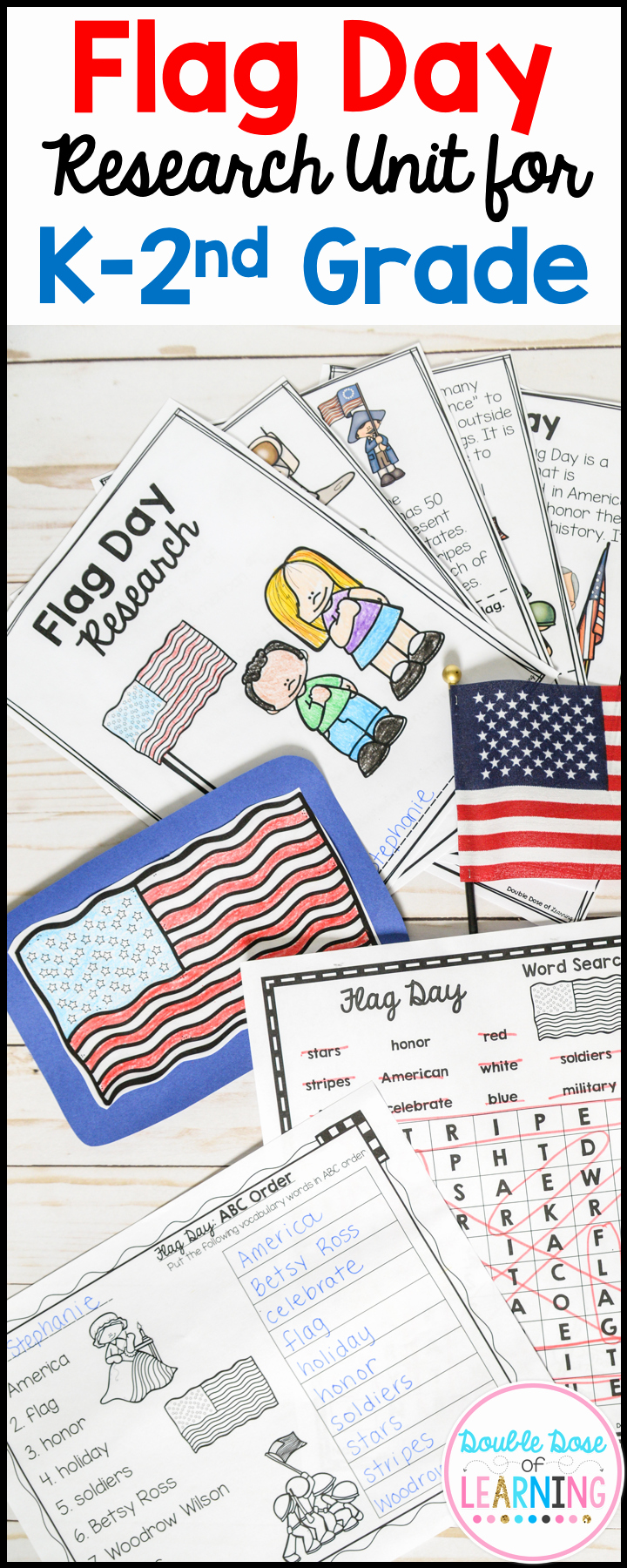 Flag Day Reading Comprehension Worksheets Inspirational Flag Day Research Unit for K 2nd Grade