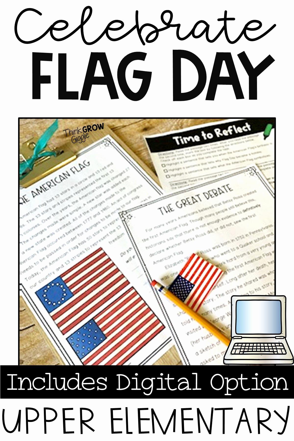 Flag Day Reading Comprehension Worksheets Luxury Flag Day Reading Prehension Activities