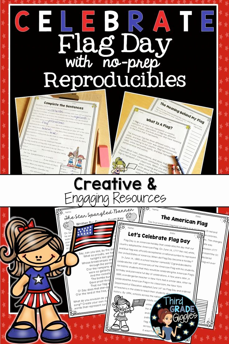 Flag Day Reading Comprehension Worksheets New Flag Day Activities