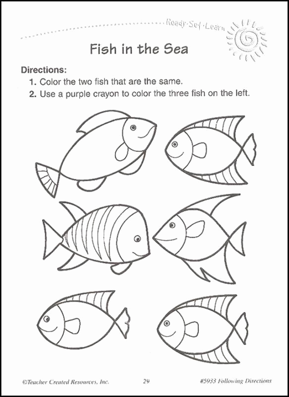 Following Directions Coloring Worksheet Fresh Following Directions Coloring Worksheets Coloring Pages