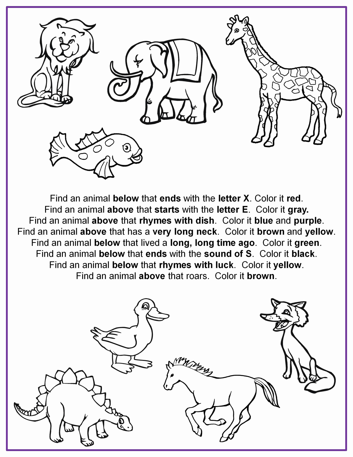 Following Directions Coloring Worksheet Lovely Direction Following Worksheets to Print