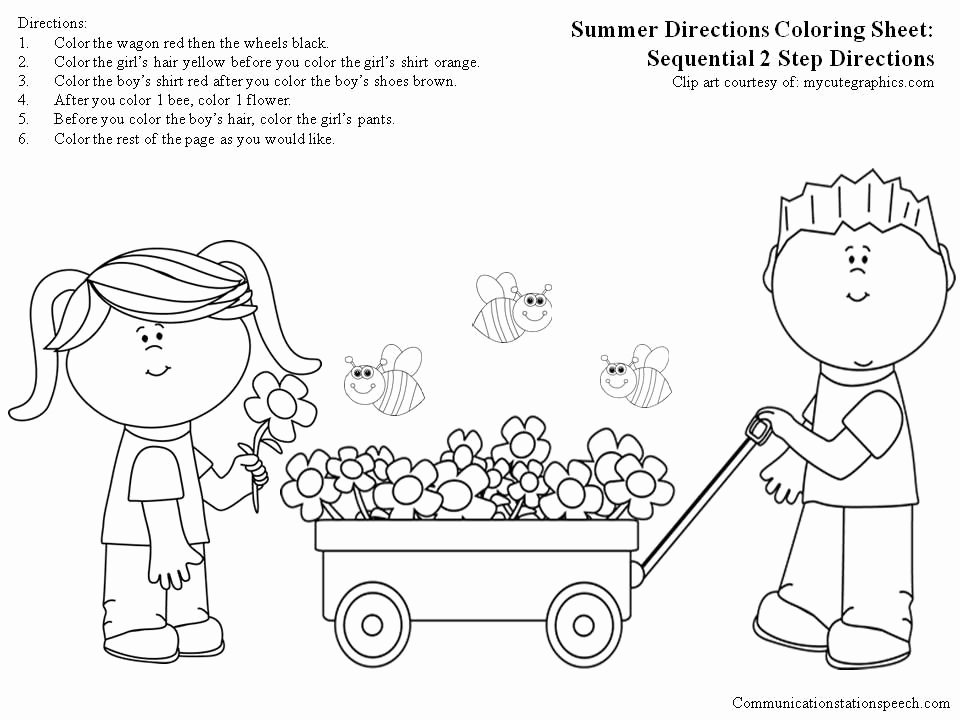 Following Directions Coloring Worksheet Unique Free Download Following Directions Coloring Worksheet