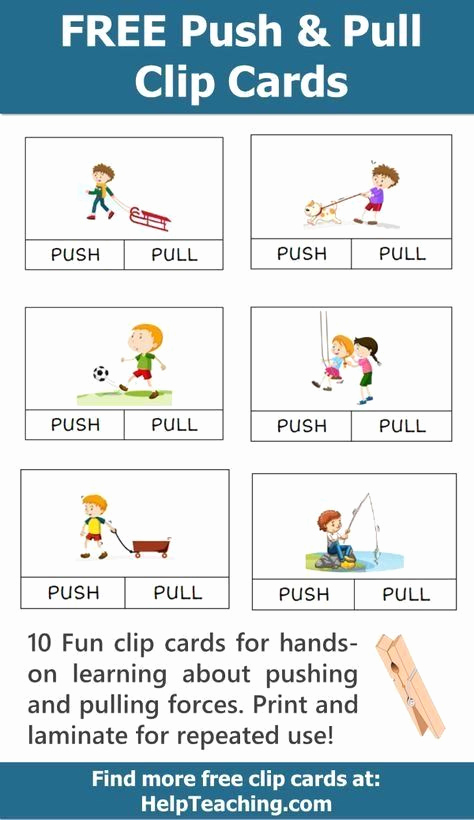 Force and Motion Printable Worksheets Lovely 20 force and Motion Kindergarten Worksheets In 2020