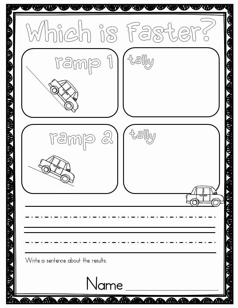 Force and Motion Printable Worksheets New Pin On Printable Worksheet for Kindergarten