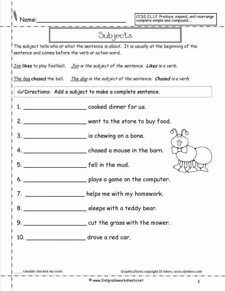 Four Kinds Of Sentences Worksheets New 7 4 Kinds Sentences Worksheet 4th Grade Grade