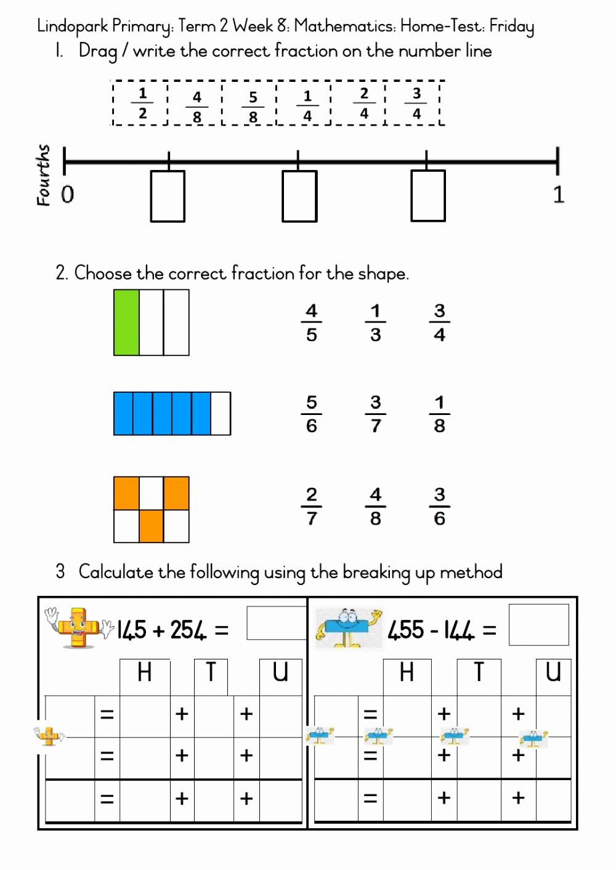 Fraction Number Line Worksheet Awesome Fraction Number Line Worksheets Grade 4