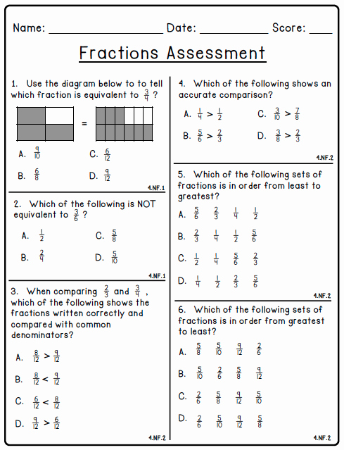 Fractions Common Core Worksheets Lovely 80 Fraction Printables Create Teach