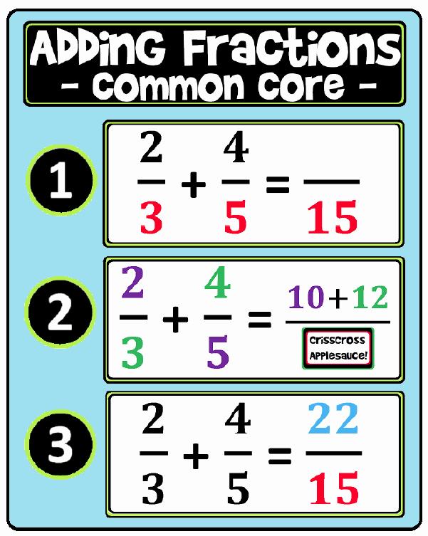 Fractions Common Core Worksheets Unique the Best Of Teacher Entrepreneurs Free Math Lesson