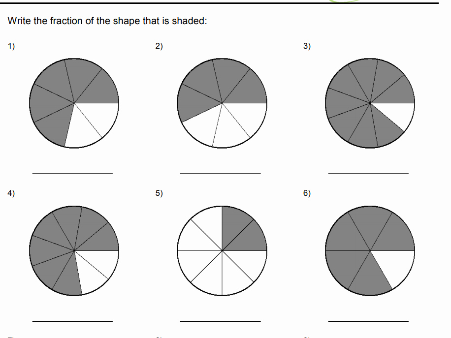 Fractions Worksheets 2nd Grade Awesome 2nd Grade Fractions Worksheets for Cbse Maths