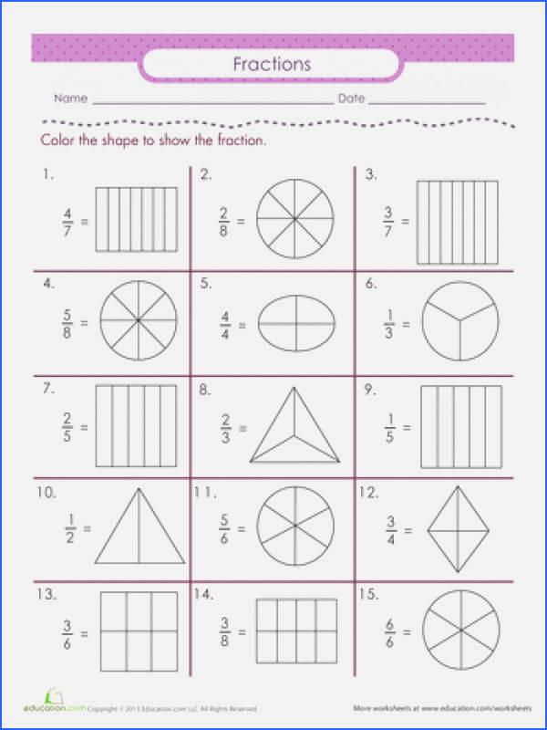 Fractions Worksheets 2nd Grade Awesome Self Esteem Worksheets