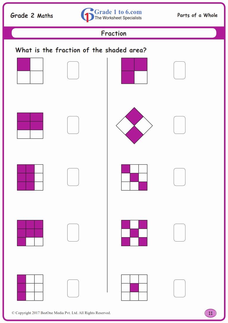 Fractions Worksheets 2nd Grade Best Of 2nd Grade Fractions Worksheets