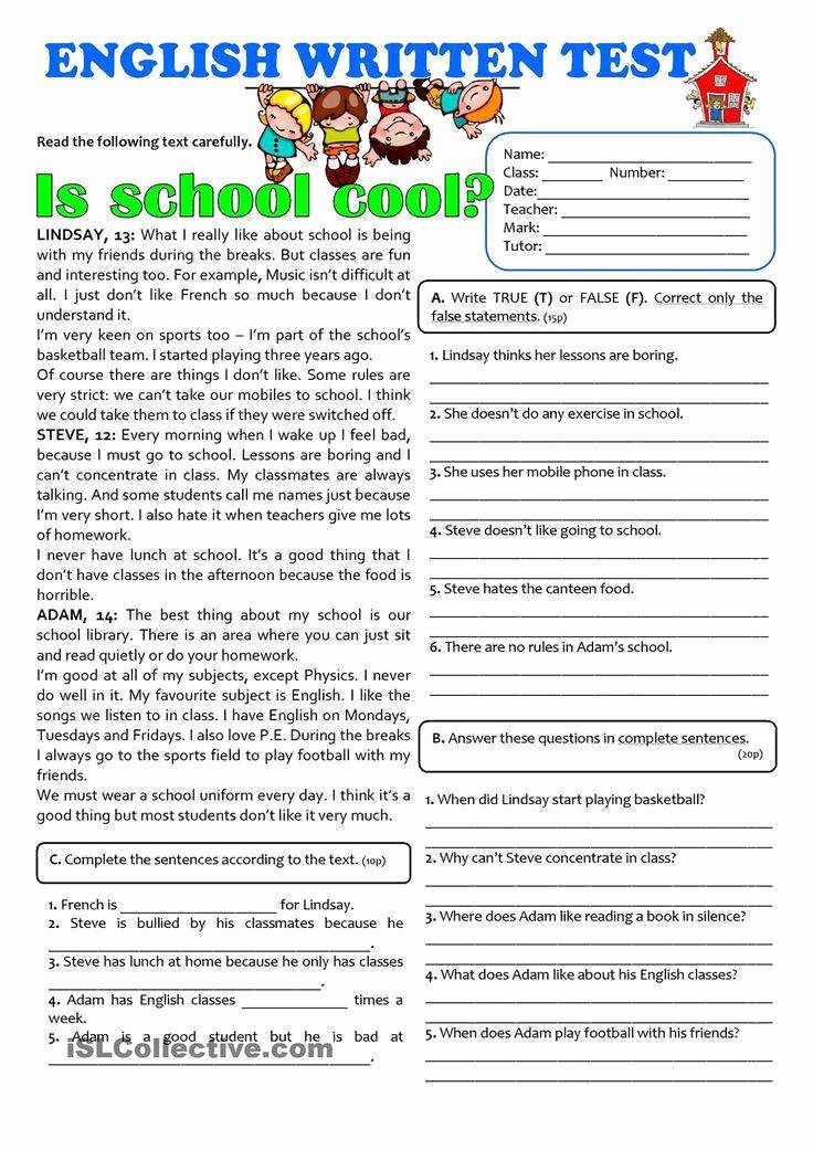 Free 7th Grade Reading Worksheets Beautiful 7th Grade Reading Prehension Worksheets