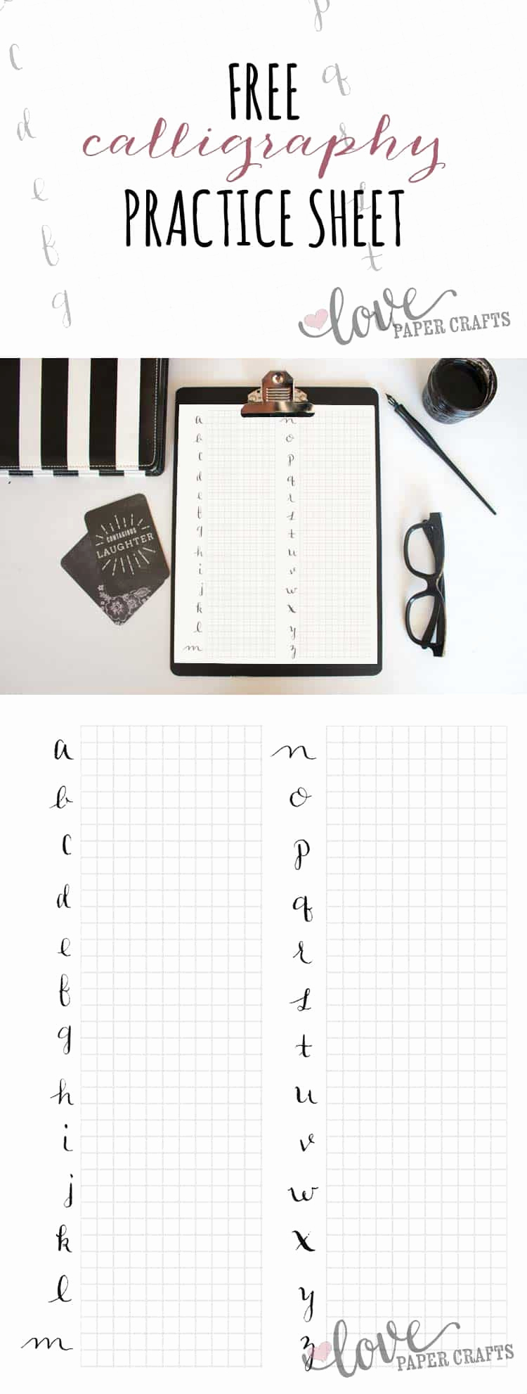 Free Calligraphy Worksheets Printable Awesome Free Printable Calligraphy Alphabet Practice Sheets