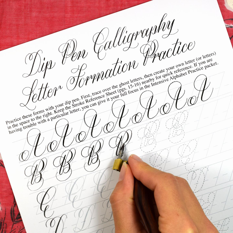 Free Calligraphy Worksheets Printable Fresh Printable Calligraphy Worksheet Set Janet Style