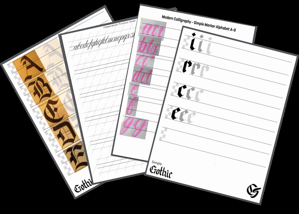 Free Calligraphy Worksheets Printable Luxury 4 Free Printable Calligraphy Practice Sheets Pdf Download
