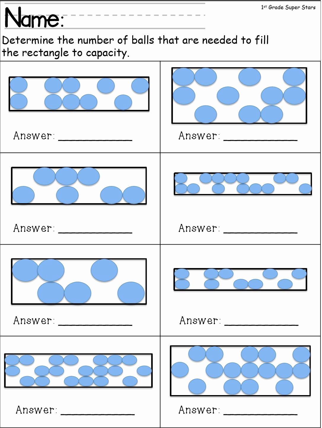 Free Capacity Worksheets Awesome Capacity Worksheets for Kindergarten
