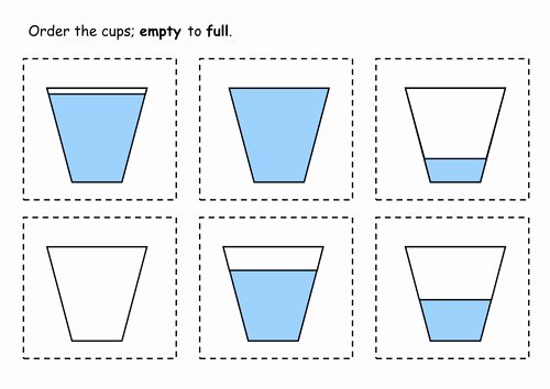 Free Capacity Worksheets Beautiful Capacity Worksheets