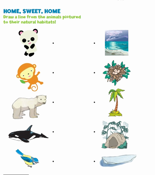 Free Habitat Worksheets Awesome Crafts Actvities and Worksheets for Preschool toddler and