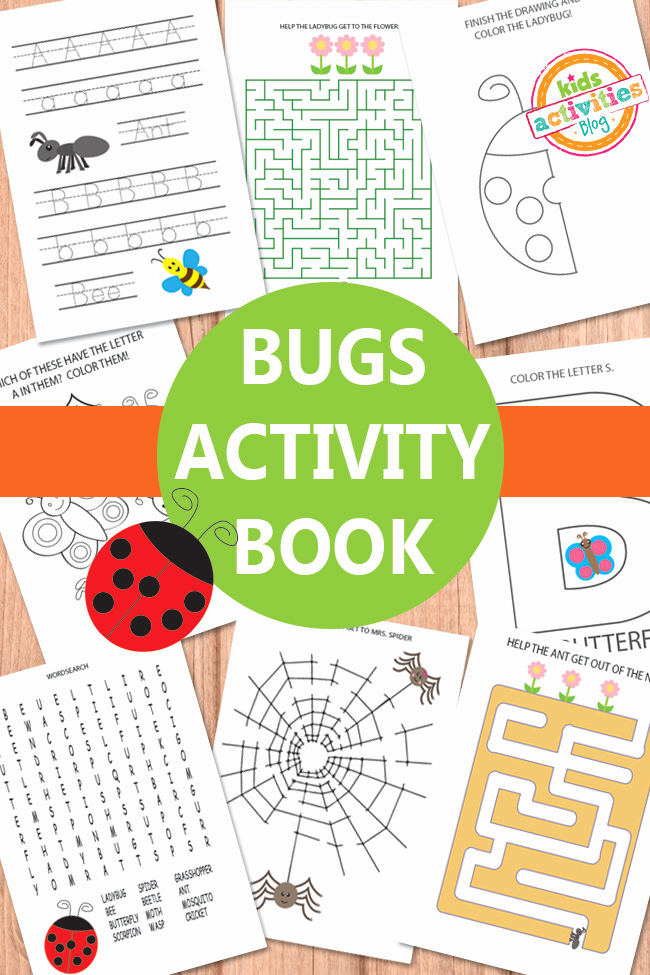 Free Insect Worksheets Inspirational Bugs Activity Sheets Free Kids Printable
