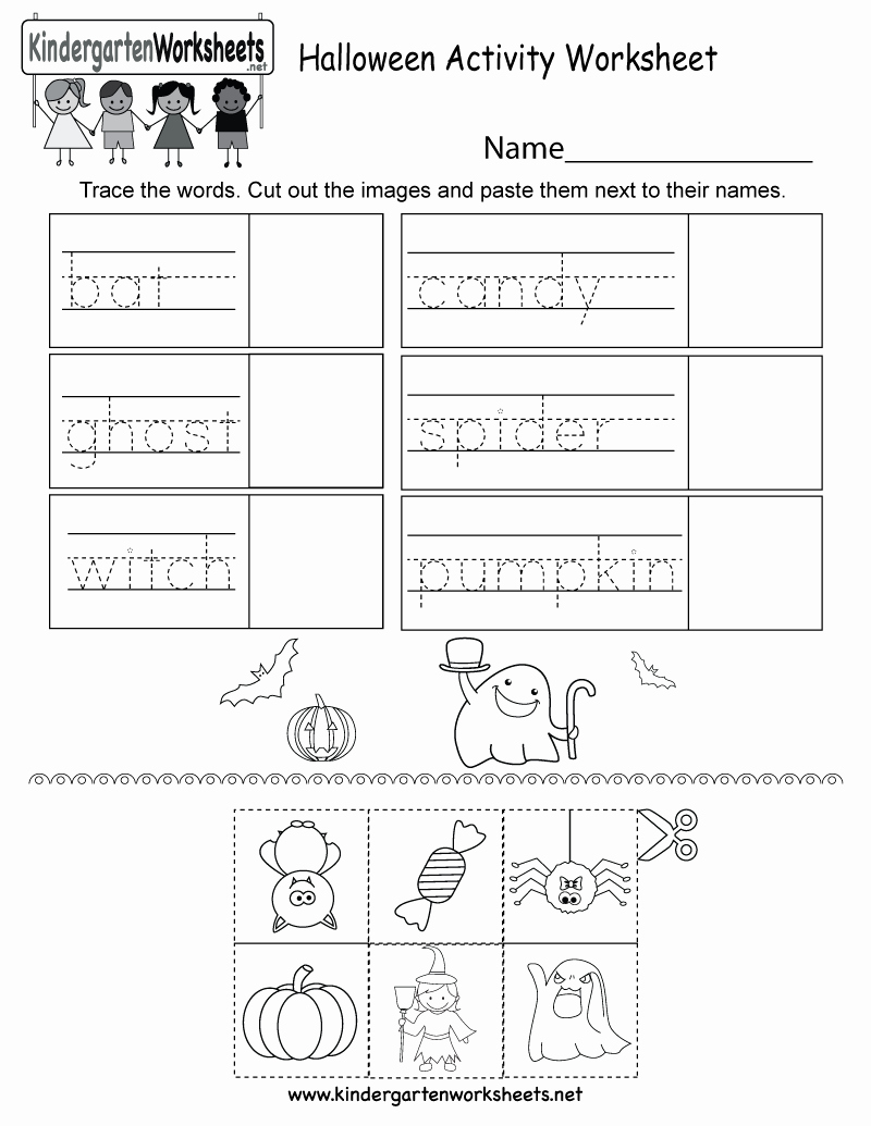 Free Kindergarten Halloween Worksheets Printable Awesome Halloween Activity Worksheet Free Kindergarten Holiday