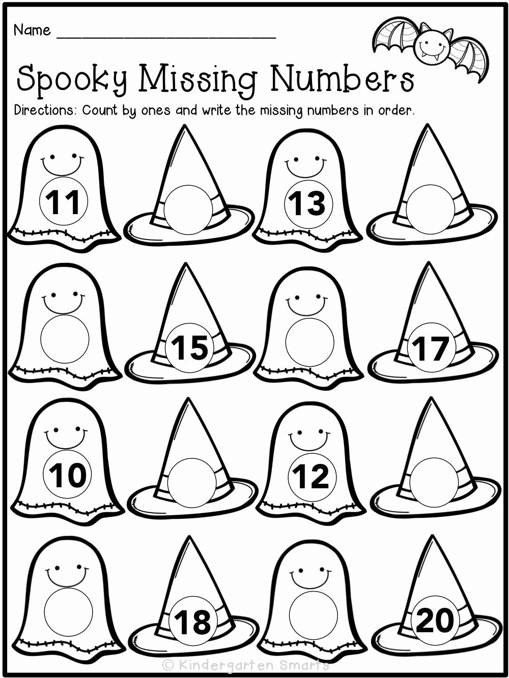 Free Kindergarten Halloween Worksheets Printable New 15 Halloween Activities Worksheets and Printables for