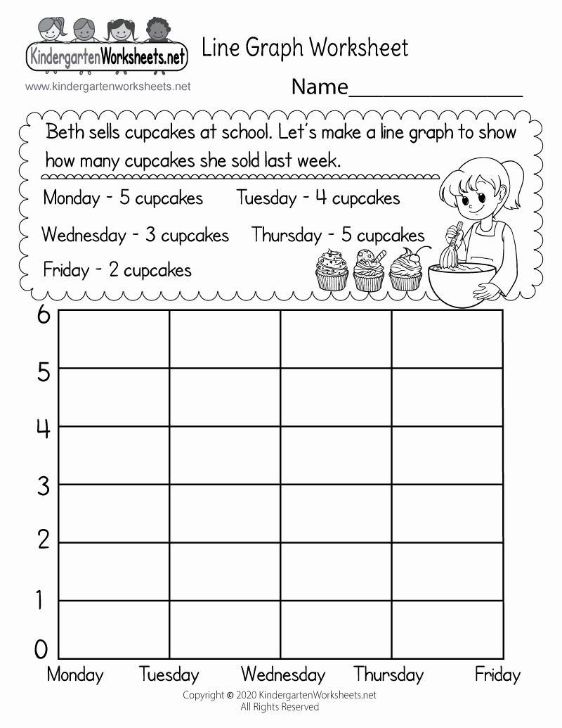 Free Line Graph Worksheets New Line Graph Worksheet Free Kindergarten Math Worksheet