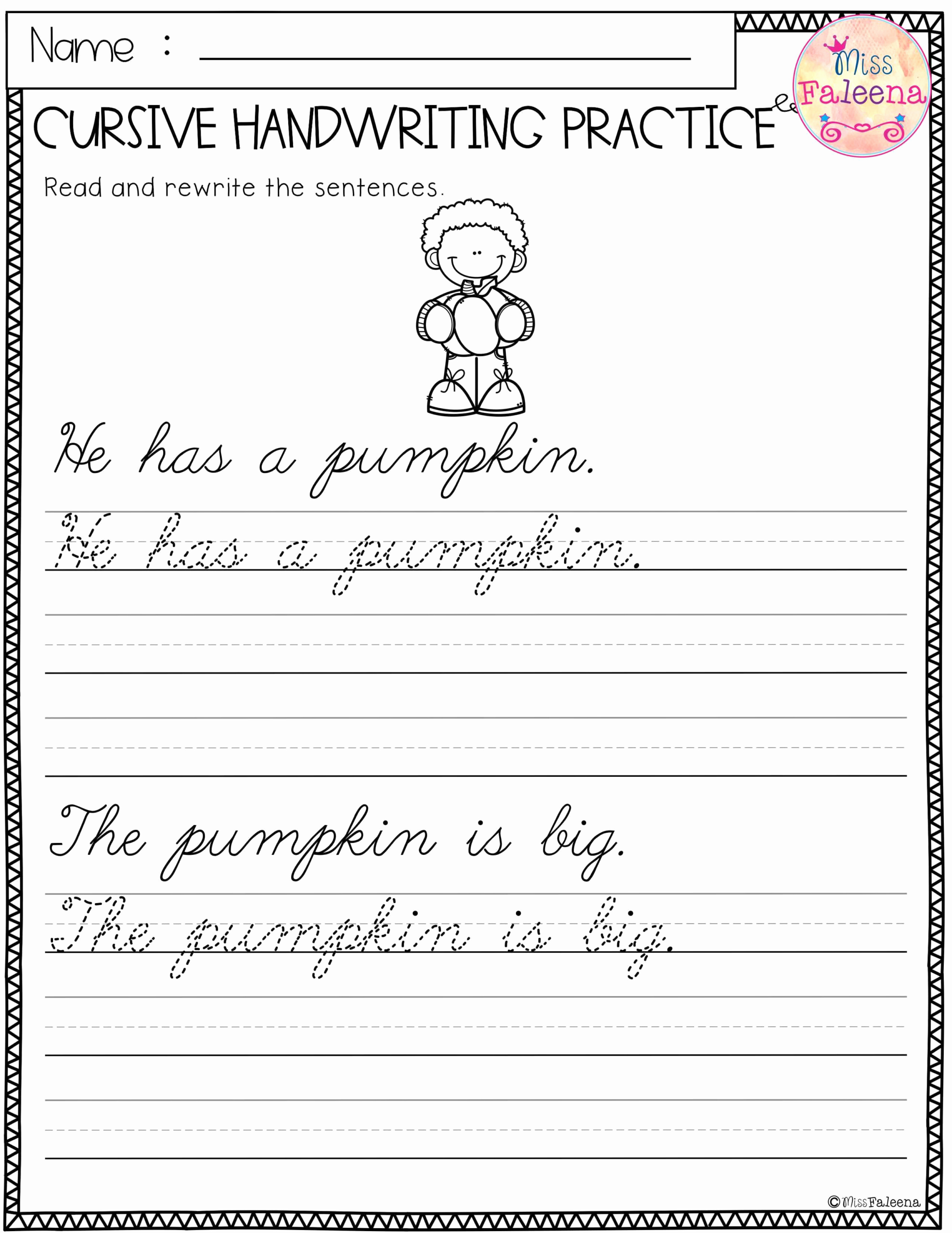 Free Paragraph Writing Worksheets Awesome Free Cursive Writing Paragraph Worksheets
