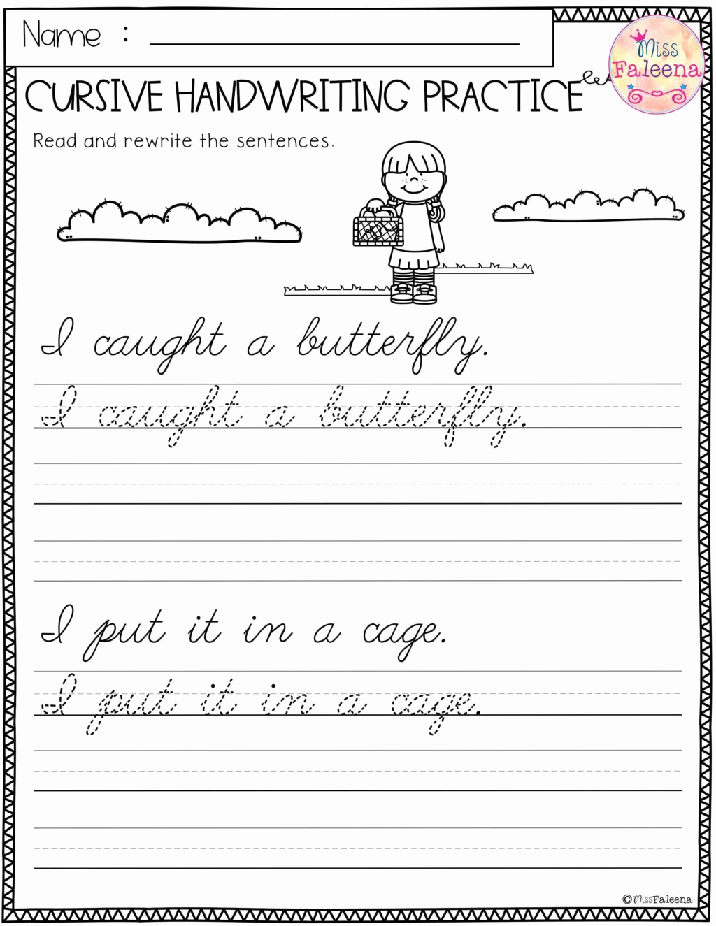 Free Paragraph Writing Worksheets Elegant Free Cursive Writing Paragraph Worksheets