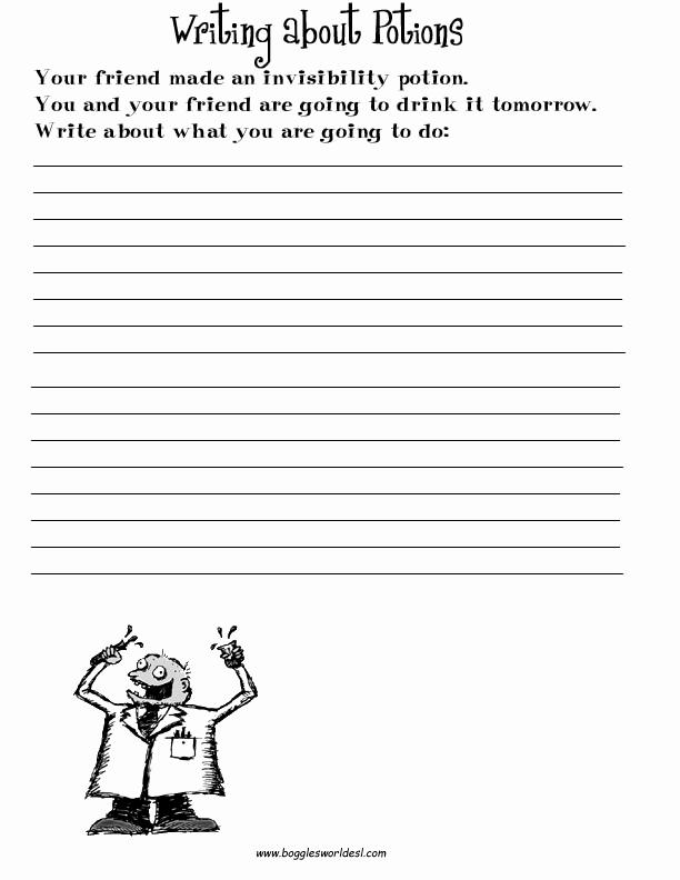Free Paragraph Writing Worksheets Unique 16 Best Of 2nd Grade Paragraph Writing Worksheets