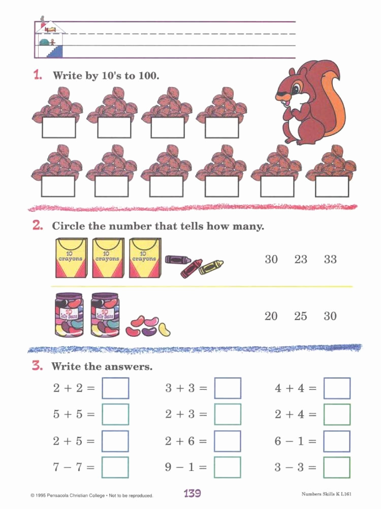 Free Printable Abeka Worksheets Beautiful Preschooler Free Printable Abeka Worksheets – Learning How