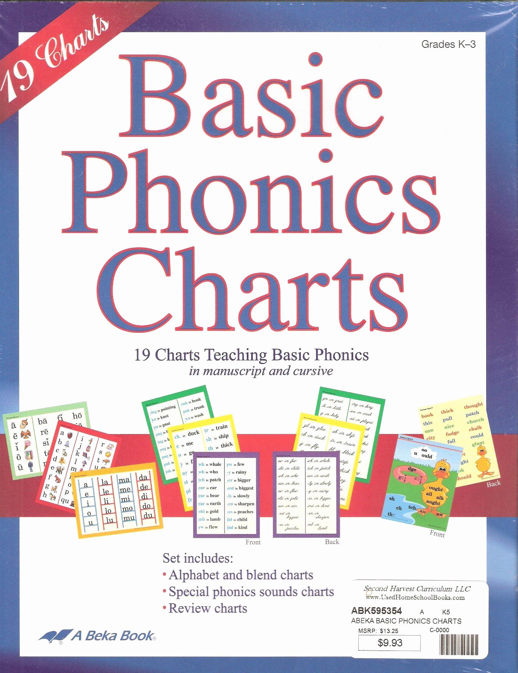 Free Printable Abeka Worksheets Inspirational Free Printable Abeka Worksheets Abeka Basic Phonics Charts