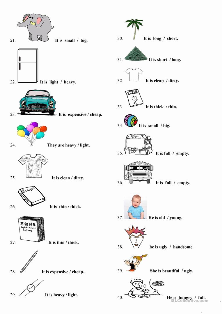 Free Printable Adjective Worksheets Fresh Adjectives Worksheet Free Esl Printable Worksheets Made