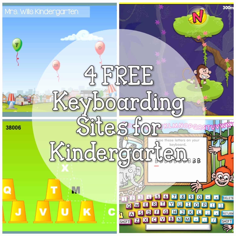 Free Printable Computer Keyboarding Worksheets Luxury 4 Free Keyboarding Sites for Kindergarten Mrs Wills