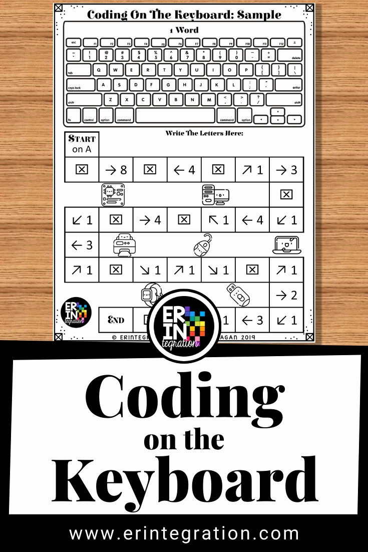 Free Printable Computer Keyboarding Worksheets Unique Coding On the Keyboard to Introduce Coding to Kids and