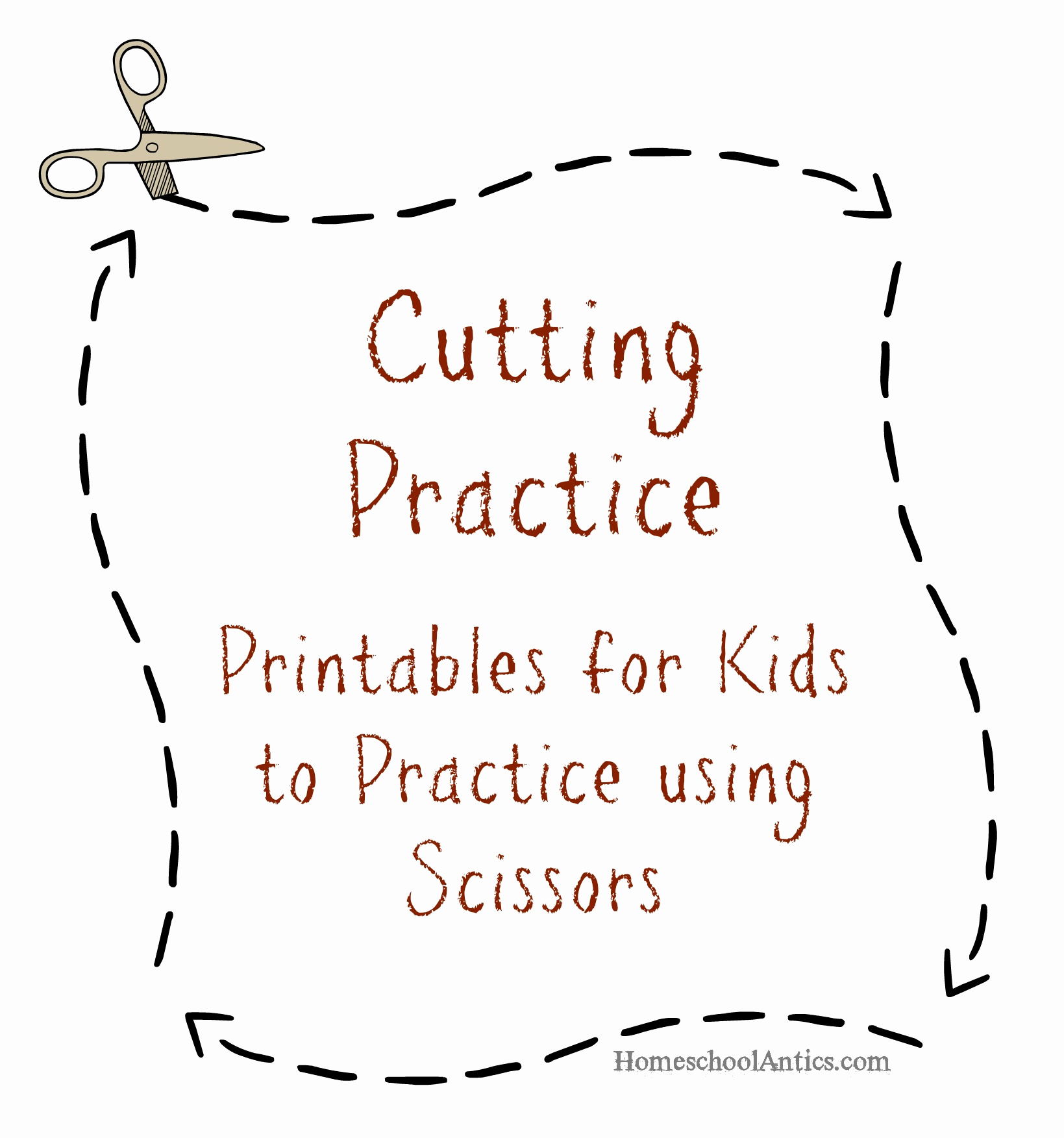 Free Printable Cutting Worksheets Awesome Cutting Practice Printables