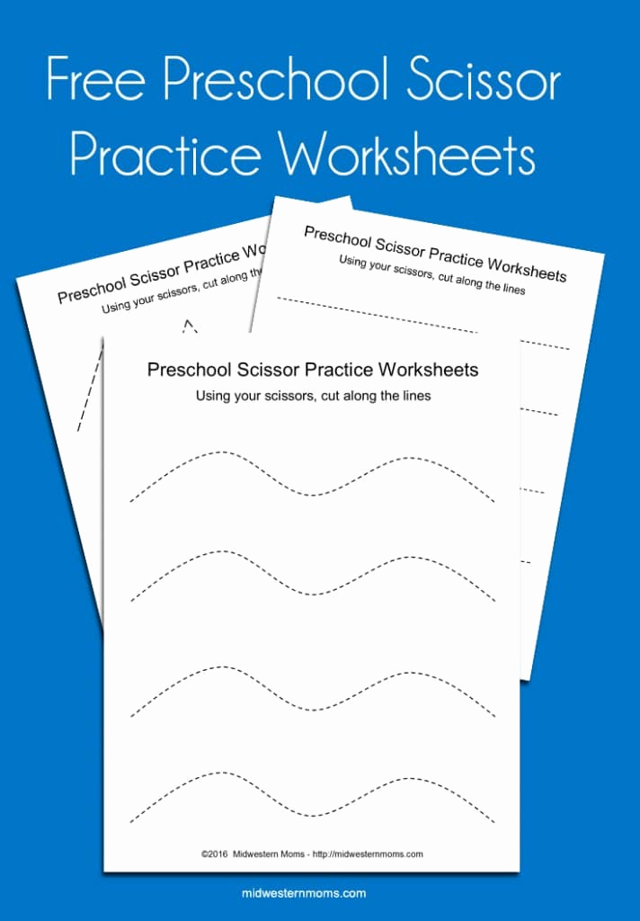 Free Printable Cutting Worksheets Awesome Preschool Scissor Practice Worksheets
