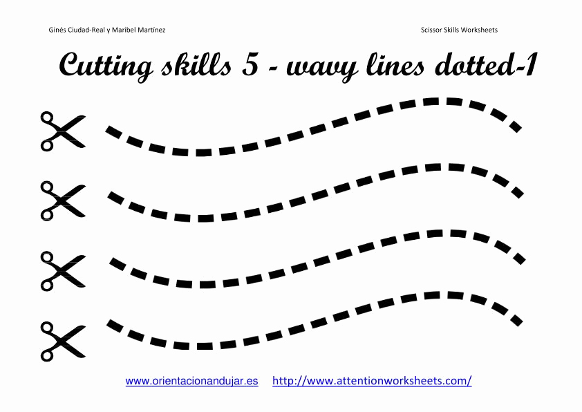 Free Printable Cutting Worksheets Beautiful Cutting Skills Printables Worksheets Collection