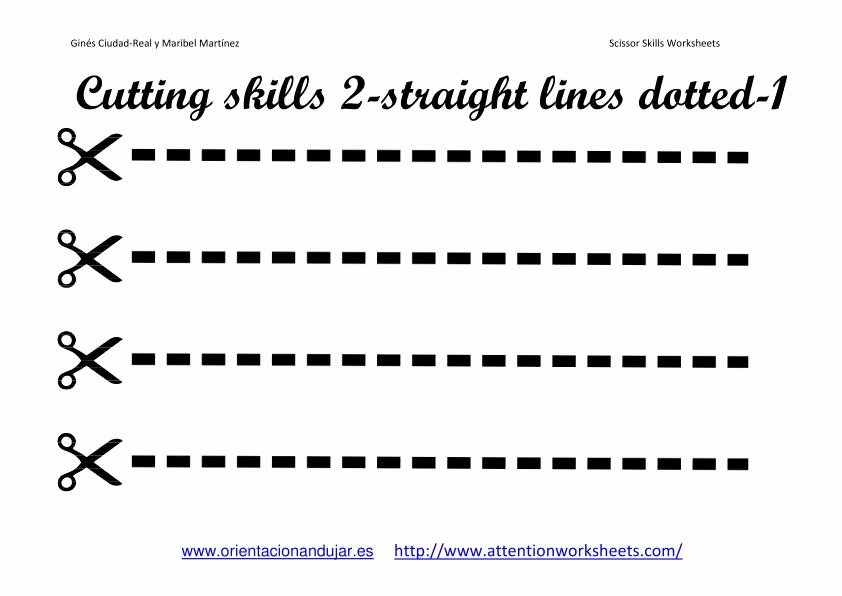 Free Printable Cutting Worksheets Fresh Cutting Skills Printables Worksheets Collection