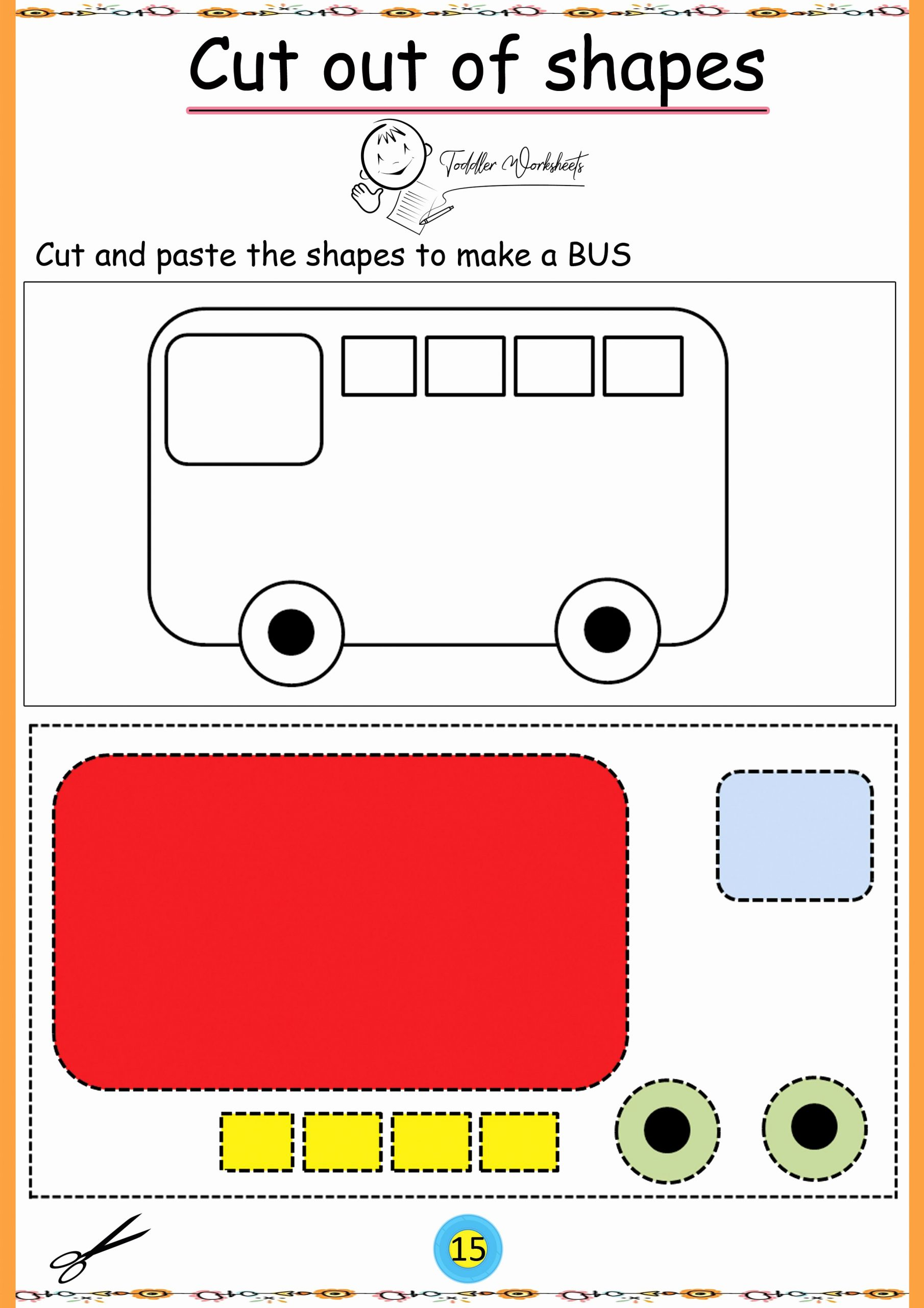 Free Printable Cutting Worksheets Lovely Pin On Preschool Cutting Worksheets