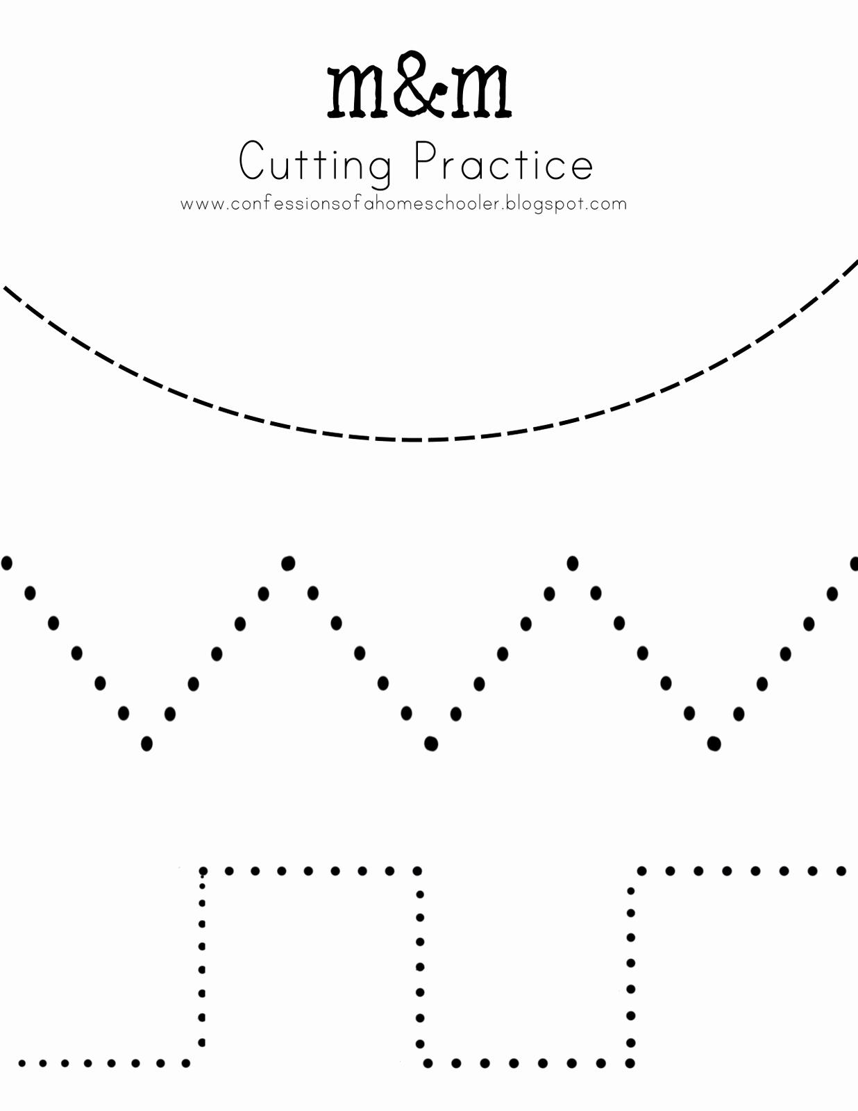 Free Printable Cutting Worksheets Luxury 14 Best Of Preschool Cutting Skills Worksheets