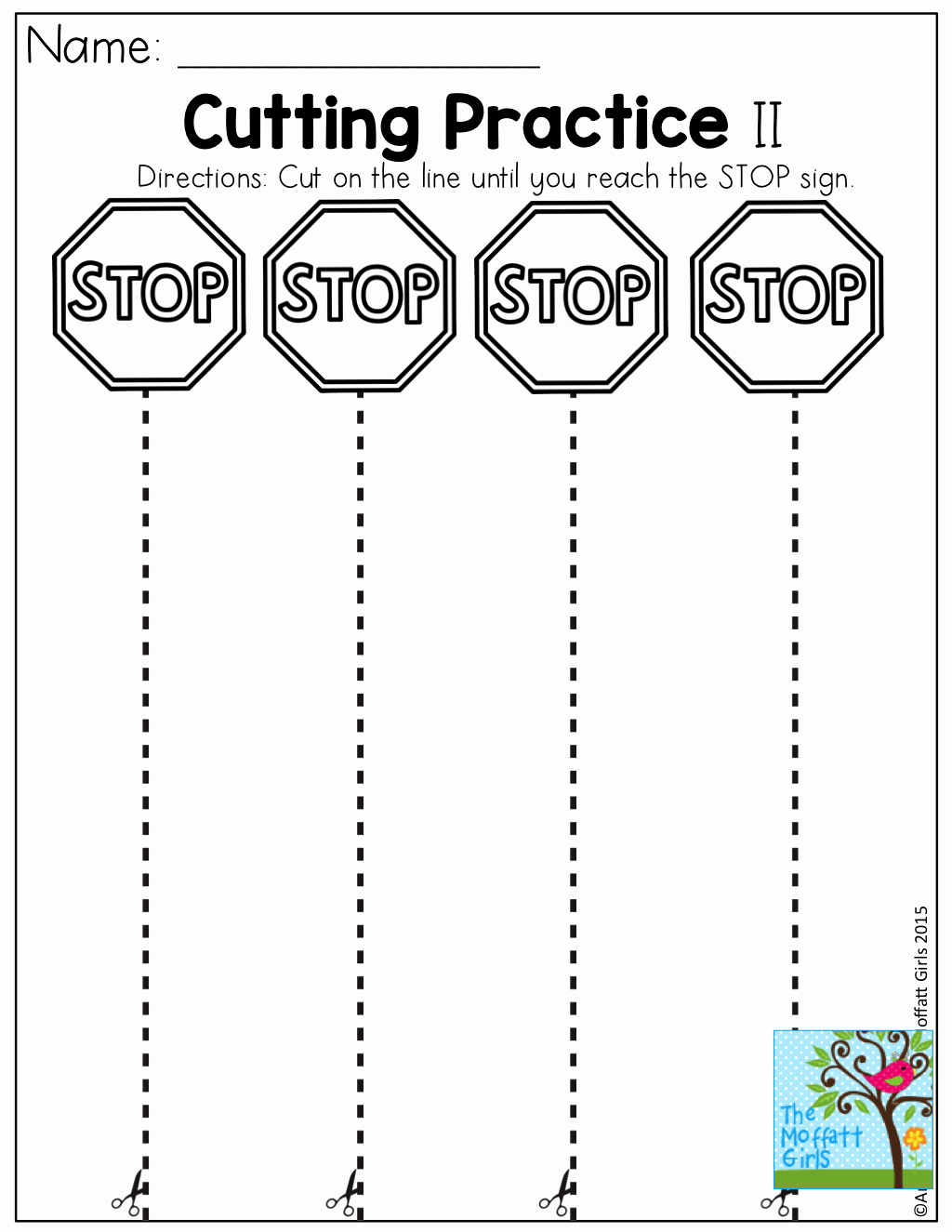 Free Printable Cutting Worksheets Luxury Cutting Practice Worksheets for Kindergarten Pdf