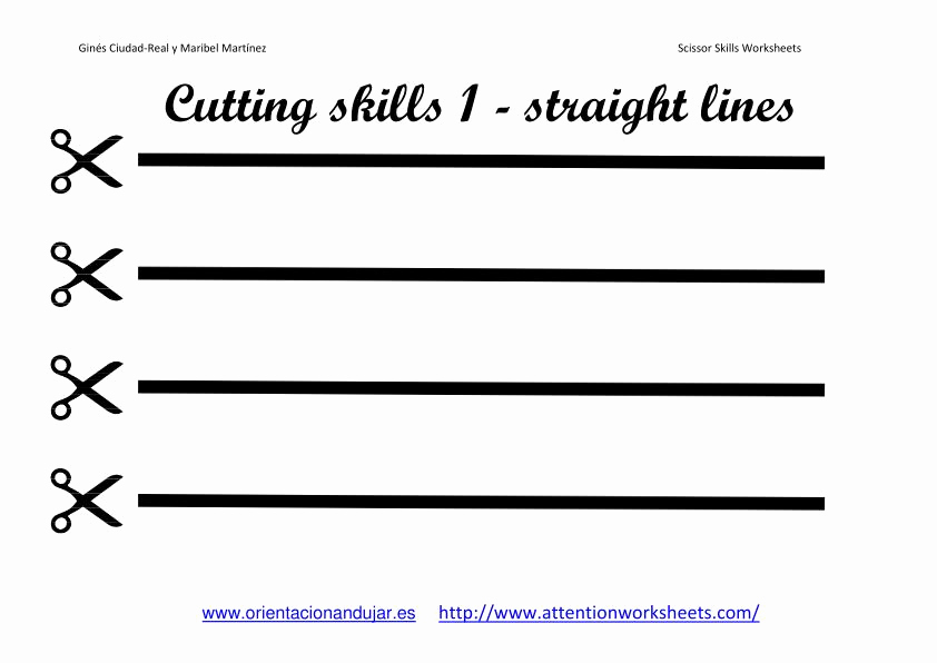 Free Printable Cutting Worksheets Luxury Cutting Skills Printables Worksheets Collection
