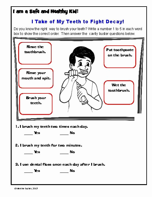 Free Printable Health Worksheets Awesome Mon Worksheets Free Printable Hygiene Worksheets
