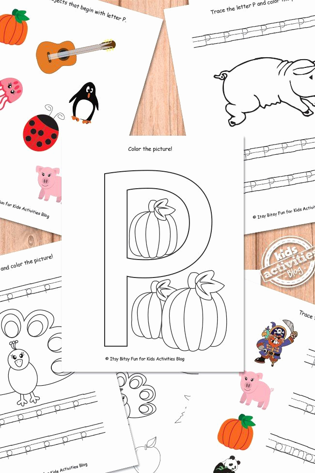 Free Printable Letter P Worksheets Awesome Letter P Worksheets Free Kids Printable