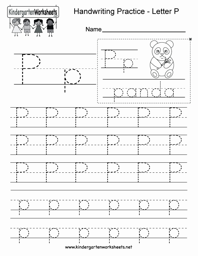 Free Printable Letter P Worksheets Unique Free Printable Letter P Writing Practice Worksheet for
