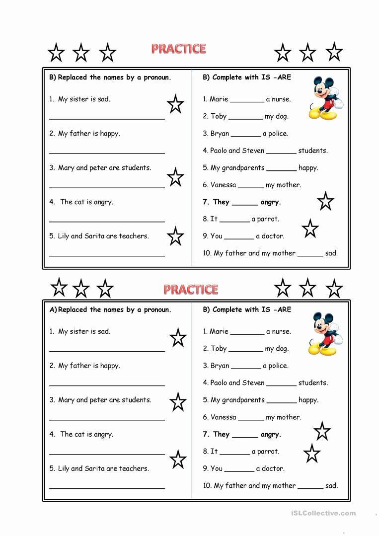 Free Pronoun Worksheets Elegant Pronouns Worksheet Free Esl Printable Worksheets Made by