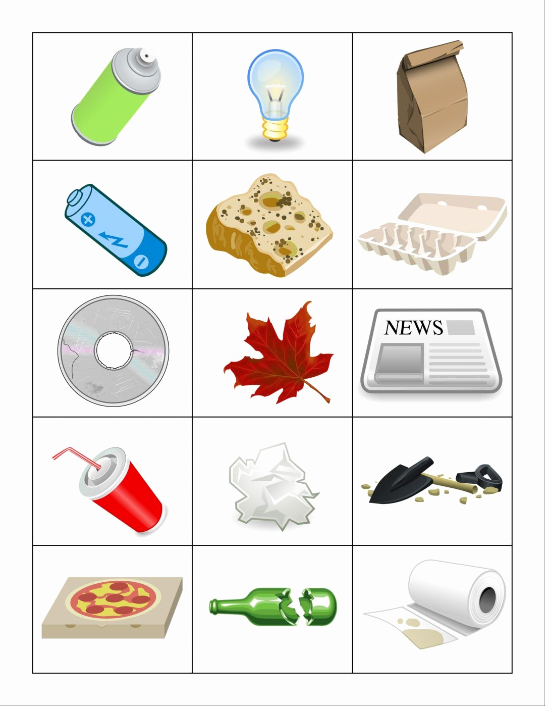 Free Recycling Worksheets Awesome Page05
